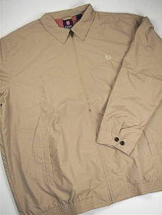 #170772. 4XL BIG. CHINO Retail $  95.50 Outerwear by CHAPS. MICROFIBER BARACUTA Whs A:  1