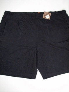 #232634. 3XL BIG. NAVY Retail $  23.00 Fleece Shorts by COTTON WORKS. JERSEY SHORT Whs A:  6 FW:  1