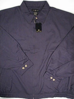 #167967. 5XL BIG. NAVY Retail $  95.00 Outerwear by CTTON TRADERS. MICROFIBER JACKET Alpha:  1,