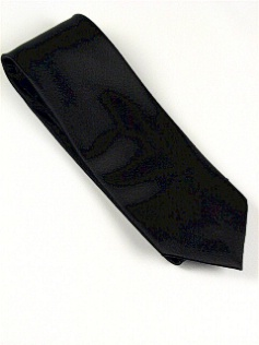 #159535.  . BLACK Retail $  28.50 Extra Long Ties by FX DESIGN. SOLID XLONG Whs:  2,
