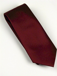 #164489.  . BURGUNDY Retail $  28.50 Extra Long Ties by FX DESIGN. SOLID XLONG Whs A:  1 FW:  1