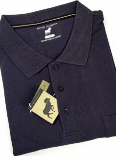 #024046. 3XL BIG. NAVY Retail $  54.00 Short Sleeve Pocket by HORNS LEGEND. POCKET FINE PIQUE FW:  1,