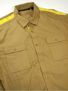 #314590. 5XL TALL. KELP Retail $  74.00 Short Sleeve Updated by SEAN JOHN. 2-POCKET MICRO DOT FW:  1
