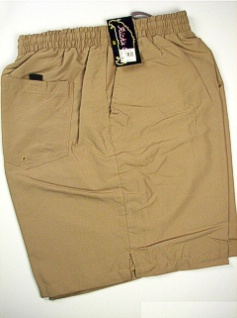 #008518. 5XL BIG. KHAKI Retail $  38.00 Swim Wear by RICKS CAFE. SOLID TRUNK Whs A:  1