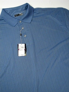 #194222. 4XL BIG. RIVERA Retail $  75.00 Short Sleeve Stay Dry by CALLAWAY GOLF. RAGLAN BIRDSEYE BLOCK Whs A:  1