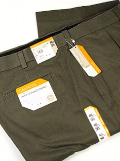 Savane Performance Chinos in Big and Tall Sizes