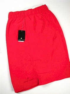 #044154. 6XL BIG. RED Retail $  46.00 Swim Wear by CTTON TRADERS. MICROFIBER TRUNK Whs A:  5 FW:  1