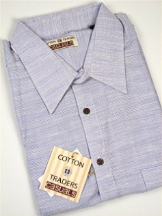 #260613. 4XL BIG. LILAC Retail $  48.00 Short Sleeve Updated by CTTON TRADERS. CT CASUAL LINEN BLEND Whs A:  1