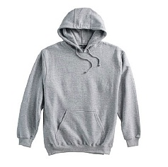 #001076. 4XL TALL. GREY Retail $  38.00 Athletic Crew by WHITE MOUNTAIN. PENNANT PULLOVR HOODY Whs A:  1