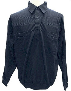#341941. 4XL BIG. NAVY Retail $  49.00 Long Sleeve by LD SPORT. 4-POCKET SOLID MIXED Whs A:  1