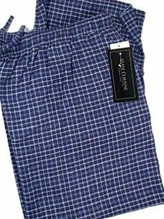 #024343. XL TALL. NAVY Retail $  29.00 Flannel Loungepants by STATE-O-MAINE. FLANNEL PANT Whs: 15,