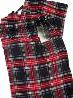 #257705. 2XL TALL. BLACK Retail $  29.00 Flannel Loungepants by STATE-O-MAINE. FLANNEL PANT Whs A: 12