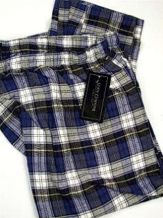 #134196. 2XL BIG. WHITE Retail $  29.00 Flannel Loungepants by STATE-O-MAINE. FLANNEL PANT Whs A:  2