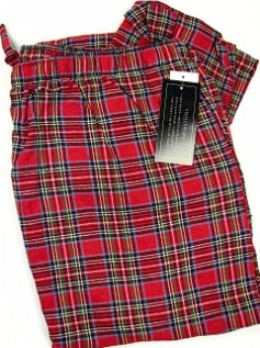 #260101. 2XL TALL. RED Retail $  29.00 Flannel Loungepants by STATE-O-MAINE. FLANNEL PANT Whs A:  7