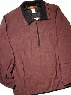 #128913. 2XL TALL. MOCHA Retail $  46.00 Outerwear by LD SPORT. POLAR FLEECE JACKET Whs A:  2
