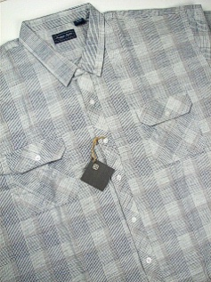 Woven 2-Pockets Short Sleeve