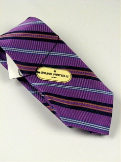 #345497.  . PURPLE Retail $  45.00 Extra Long Ties by BRUNO PIATTELLI. XLONG JACQ DIAGONAL FW:  1