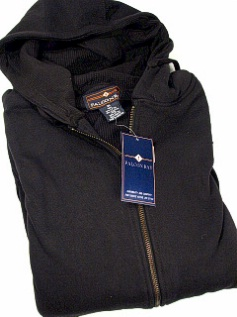 #228088. 2XL BIG. BLACK Retail $  48.00 Athletic Crew by FALCON BAY. THERMAL LINED HOODY Whs A:  2