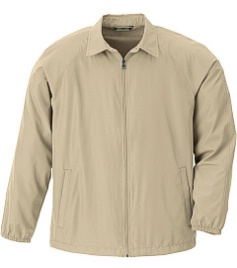 #068538. 5XL BIG. PUTTY Retail $  49.00 Outerwear by NORTH END. FULLZIP LT WEIGHT JAC Whs A:  2
