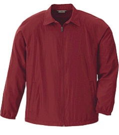 #149868. 5XL BIG. CRIMSON Retail $  49.00 Outerwear by NORTH END. FULLZIP LT WEIGHT JAC Whs A:  4