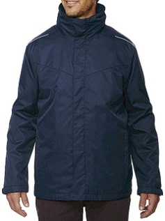 #246936. 3XL TALL. NAVY Retail $ 169.00 Outerwear by NORTH END. 3-IN-1 SYSTEMS JACKET Whs A:  1