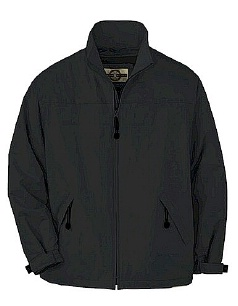 #246905. 4XL BIG. BLACK Retail $  75.00 Outerwear by NORTH END. TECH MID JKT/FLC LND FW:  1,