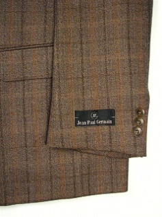 #147107. 52 P-RG. TAUPE Retail $ 249.00 Sportcoats by ZEGNORELLI. TWEED STRIPE <font face=arial size=2><BR>Special Order Item.</font> <B>Item stocked by Manufacturer.  Allow up to 3 weeks for delivery.</B>