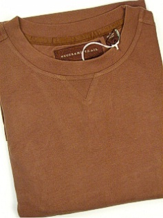 #222101. 2XL TALL. BROWN Retail $  42.50 Long Sleeve by WOOD LAND TRAIL. MOLESKIN CREWNECK Whs:  1,FW:  1,