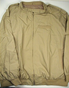 #204064. 5XL BIG. KHAKI Retail $  75.00 Outerwear by CTTON TRADERS. THROAT LATCH CHINTZ Whs A:  1