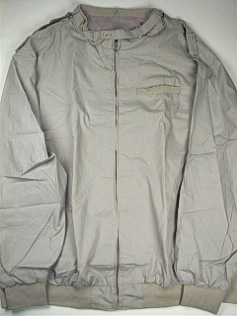 #204057. 4XL TALL. SILVER Retail $  65.00 Outerwear by CTTON TRADERS. THROAT LATCH CHINTZ Whs A:  1